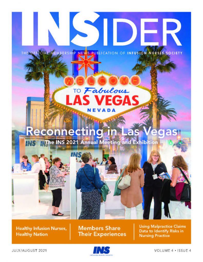 Las Vegas: INSider July/August cover